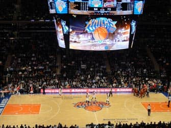 New York Knicks Match au Madison Square Garden