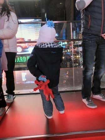 visiter times square à new york avec les enfants