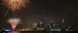 Le 4 juillet à New York