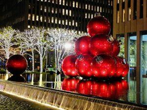 Ambiance de Noël à New York