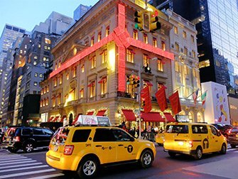 Ambiance de Noël à New York - Cartier