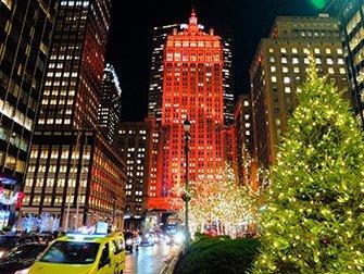 Ambiance de Noël à New York - Decorations