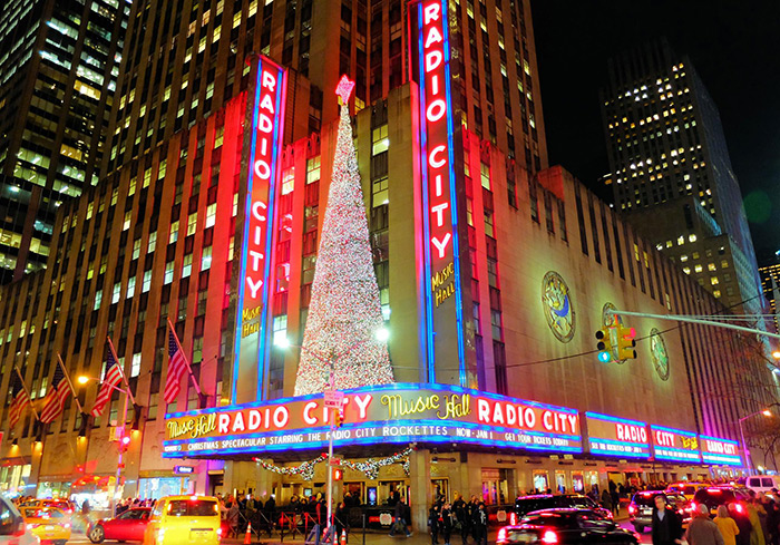 Ambiance de Noël à New York - Radio City Music Hall