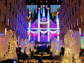 Ambiance de Noël à New York - Saks Fifth Avenue