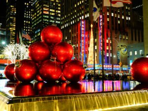 Ambiance de Noel a New York