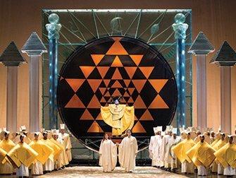 Billets pour l'opéra à New York - La flûte magique