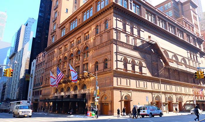Carnegie Hall à New York - Salle de Concerts