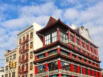 Chinatown-a-New-York-Batiment-Typique