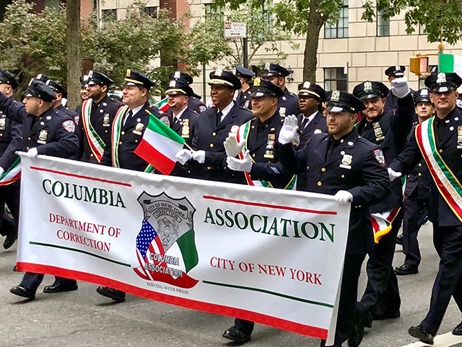 Columbus Day à New York - Columbia Association