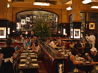 Dejeuner a New York - Balthazar