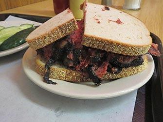 Dejeuner à New York - Pastrami sandwich