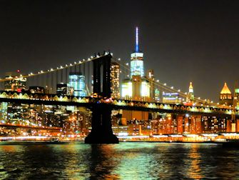 Dîner-croisière avec buffet - skyline Manhattan