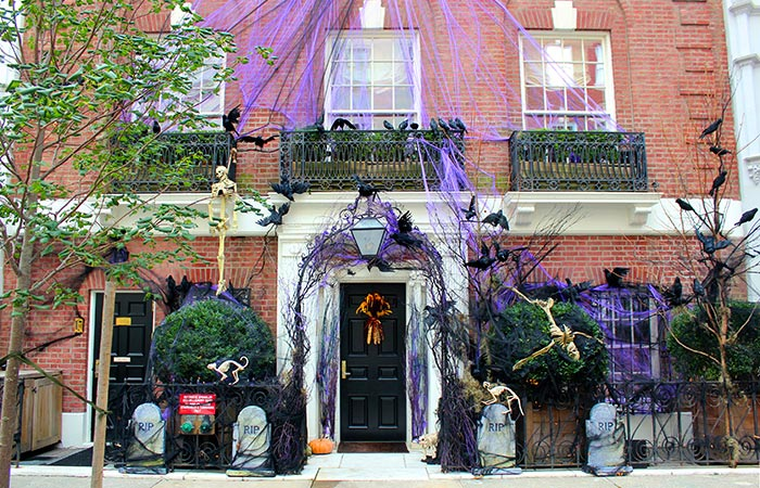 Halloween new york for Decoration maison new york