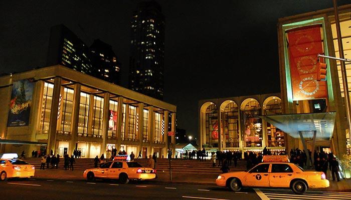 Lincoln Center à New York - Lincoln Center de nuit