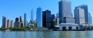 Lower Manhattan et le Financial District à New York