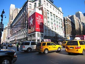 Macy's à New York - Extérieur