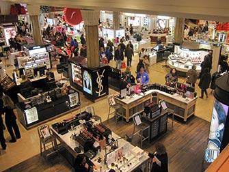Macy's à New York - Intérieur