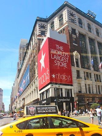 Macy's à New York - Taxi