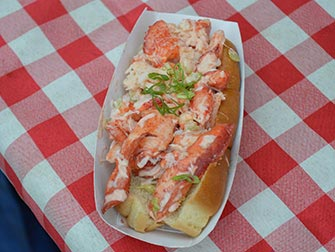 Marchés à New York - Lobster Roll de Smorgasburg