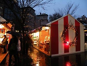 Marchés à New York - Marche de Noël à Union Square