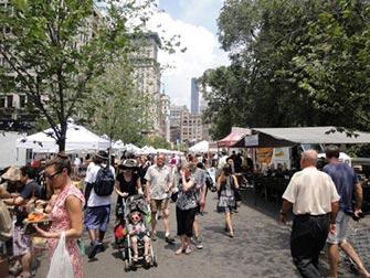 Marchés à New York - Marché de Union Square