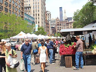 Marchés à New York - Union Square Greenmarket