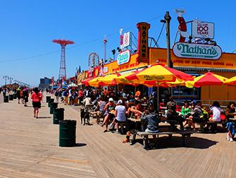 Memorial Day à New York - Coney Island Boardwalk