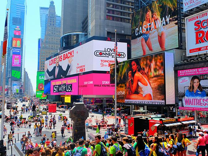 Quartier Midtown Manhattan - Times Square