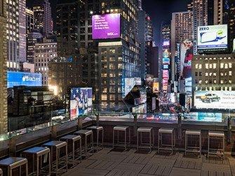 Novotel Times Square -Terrasse