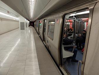 PATH à New York - Train