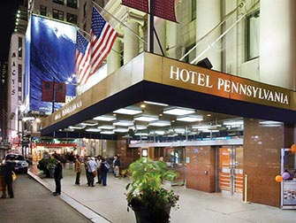 Pennsylvania Hotel à New York