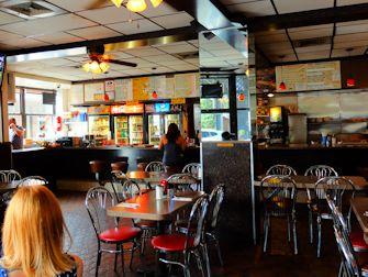 Petit-déjeuner à New York- Intérieur du Hector's