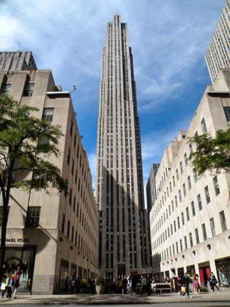 Quartier Midtown Manhattan à New York - Rockefeller Center