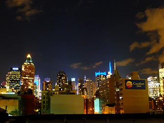 Restaurants mexicains à New York - Vue depuis Cantina