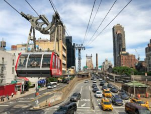 Roosevelt Island Tram à New York - Téléphérique