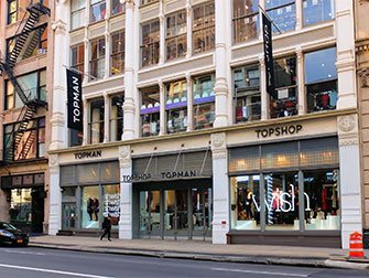 Shopping à SoHo - Topshop