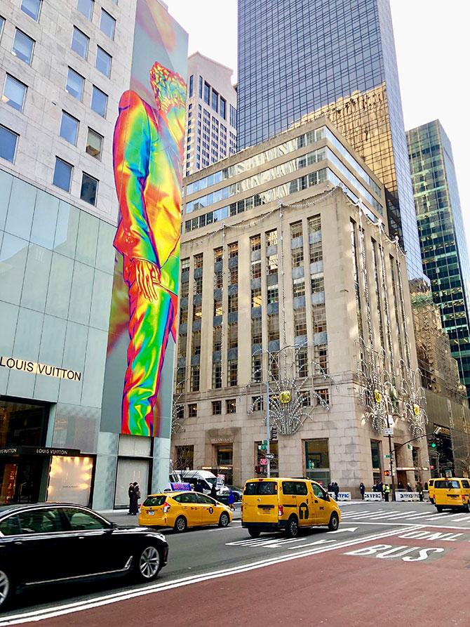 Shopping sur la Fifth Avenue - Tiffany's