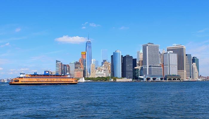 Staten Island Ferry - Skyline