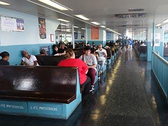 Staten Island Ferry - intérieur