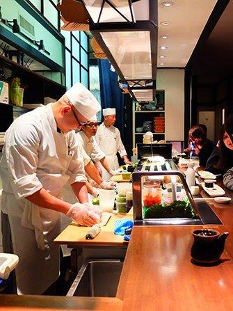 Sushi à New York - Takahachi