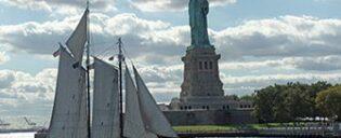 Tour en navire-école avec vue sur la Statue la Liberté