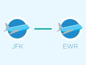 Transfert de JFK à Newark et de Newark à JFK