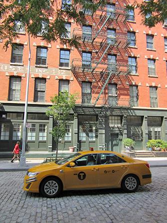 Tribeca-New-York-Taxi