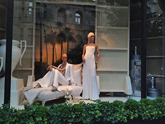Upper East Side Shopping à NYC - Vitrines