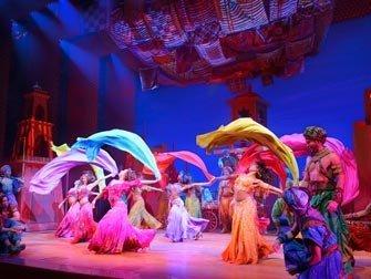 Aladdin Broadway New York Comédie Musicale