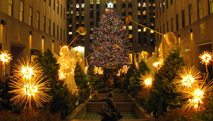 Christmas Tree Lighting Rockefeller