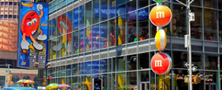 M&M's Store sur Times Square