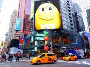 M&M s Store sur Times Square