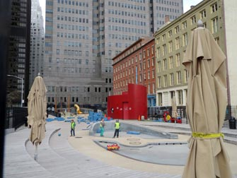 Terrain de Jeux South Street Seaport Playground New York
