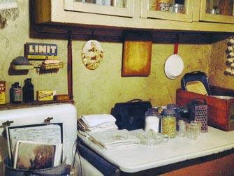 Tenement Museum à New York intérieur